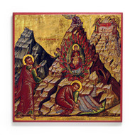 Moses and the Burning Bush (Sinai) Icon - F320