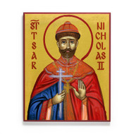 Saint Nicholas II, Tsar of Russia Icon - S468