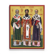 Three Pillars of Orthodoxy Icon - S470
