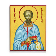 Saint Aidan of Lindisfarne Icon - S471