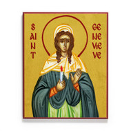 Saint Genevieve of Paris Icon - S472