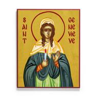 Saint Genevieve of Paris Icon - S472