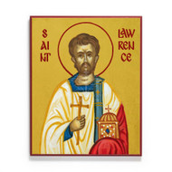Saint Lawrence of Rome Icon - S474