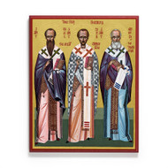 Three Holy Hierarchs Cathedral Icon - S469