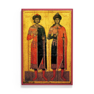 Saints Boris and Gleb (XIVc) Icon - S478
