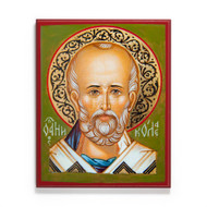 Face of Saint Nicholas (XXIc) Icon - S479