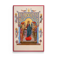 Christ the Teacher with Apostles and Prophets Icon - F325