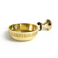 Brass Replacement Incense Bowl for Deluxe 'Smokeless' Incense Burner