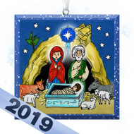2019 Little Saints Tree Ornament