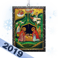 2019 Nativity Icon Tree Ornament