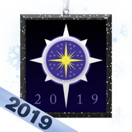 2019 Christmas Star Tree Ornament