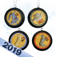 2019 Four Evangelists Tree Ornament Set