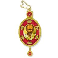 Saint Nicholas Faberge Ornament
