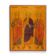 Three Patriarchs Abraham Isaac and Jacob (Sinai) Icon - S501