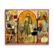 Life of Saint John the Baptist (Sinai) Icon - S503