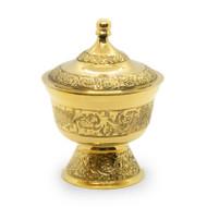 Brass Incense Bowl