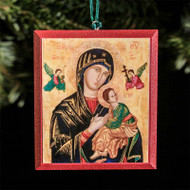 Our Lady of Perpetual Help Tree Ornament - T106