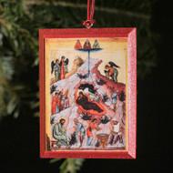 Nativity of Christ (XVc) Tree Ornament - F160