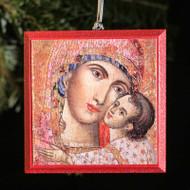 Heart of the Theotokos Tree Ornament - T100