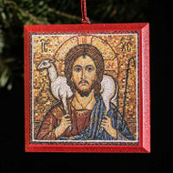 "Christ ""the Good Shepherd"" Tree Ornament - X120"