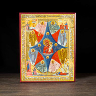 "Theotokos ""the Burning Bush"" Icon - T102"