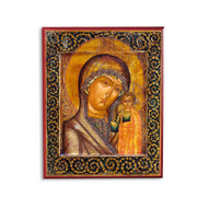 Theotokos of Kazan (XIXc) Icon - T105