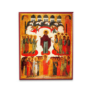 Protection of the Theotokos (XVc) Icon - T108