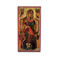 Theotokos Enthroned (XIIIc) Icon - T123