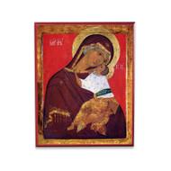 """Theotokos """"Tenderness"""" (XVc) Icon - T130"""