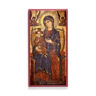Theotokos Enthroned (XIIIc) Icon - T138