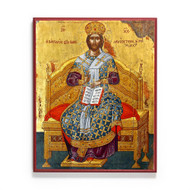 Christ Enthroned Icon - X103