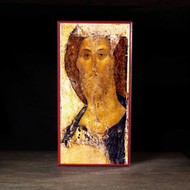 Christ Pantocrator (Rublev, Detail) Icon - X116