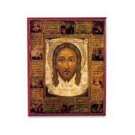 "Christ ""Holy Face"" with History Icon - X129"