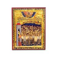 40 Martyrs of Sebaste Icon - S101