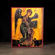 Archangel Michael and Church Warden (XIIc) Icon - S120