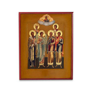Guardian Angel and Selected Saints (Old Believer) Icon - S132