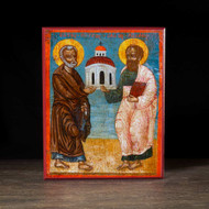 Saints Peter and Paul (XVIIIc) Icon - S140