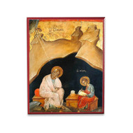 Apostle John the Theologian on Patmos Icon - S172