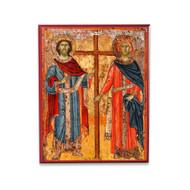Saints Constantine and Helen (XVIIc) Icon - S196