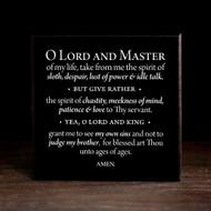The Prayer of St. Ephraim - W104