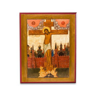 Crucifixion of Christ (XVIIIc) Icon - F209