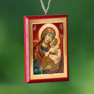 Christ / Theotokos Car Mirror Icon