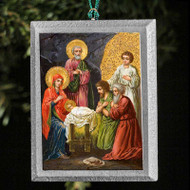 Nativity of Christ (XXc) Tree Ornament - F218