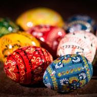 Mini Ukrainian Painted Eggs