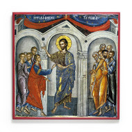 The Touch of Thomas (Antipascha) (Athos) Icon - F232