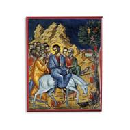 Entry Into Jerusalem (Palm Sunday) (Athos) Icon - F241