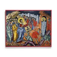 Resurrection of Lazarus (Athos) Icon - F242