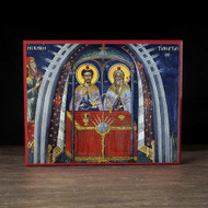 Tabernacle of Witness (Athos) Icon - F246