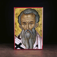 Clement of Rome (Athos) Icon - S310