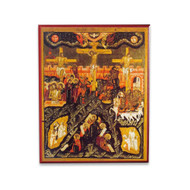 Crucifixion of Christ Icon - F120